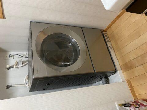 Cubleドラム洗濯乾燥機の納品です